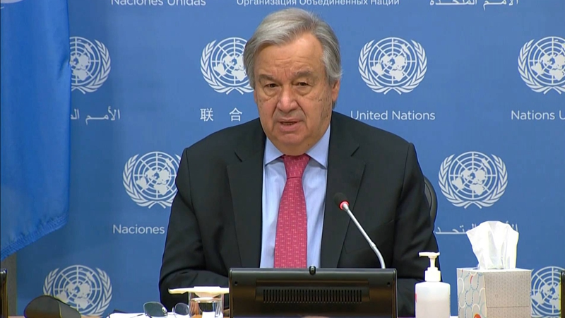 GLOBALink | UN chief calls for real action to fight climate change