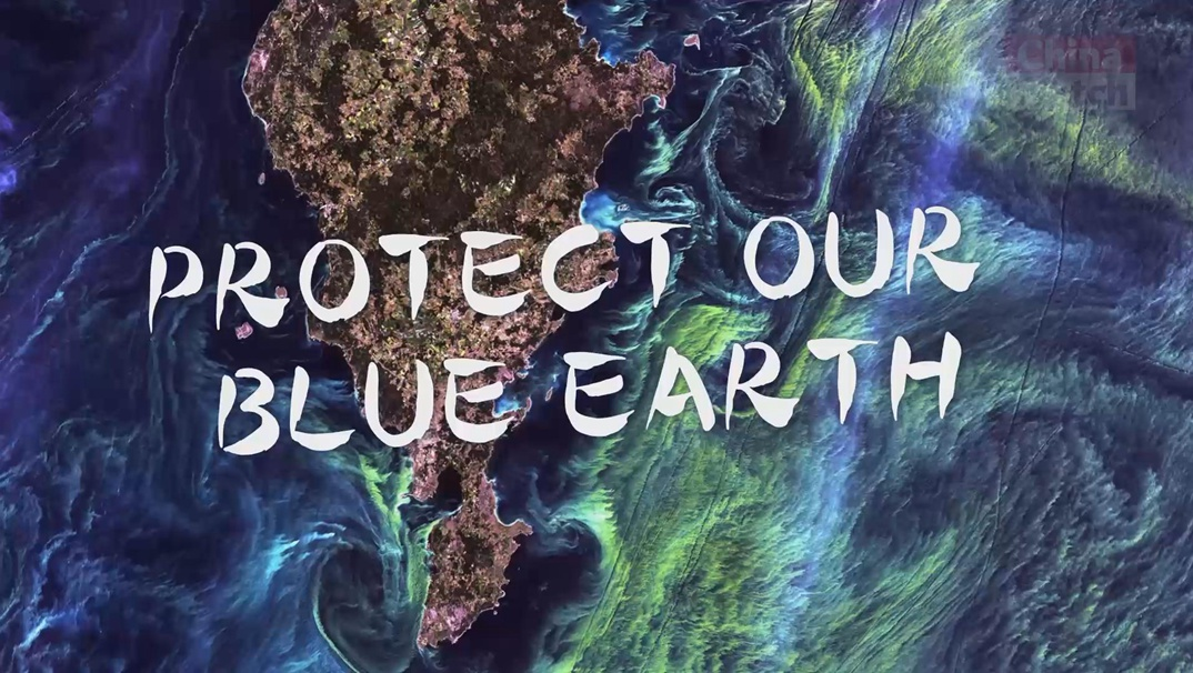 Protect our blue Earth
