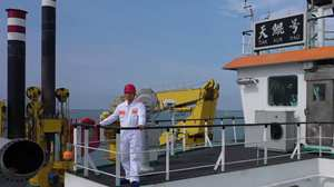 Young chief engineer of Asia's largest dredging vessel