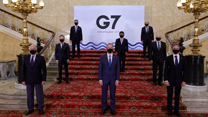 GLOBALink | G7 needs to be far more inclusive to tackle global challenges: UK expert