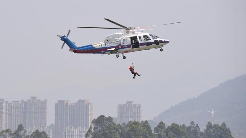 Emergency rescue drill held in Fuzhou