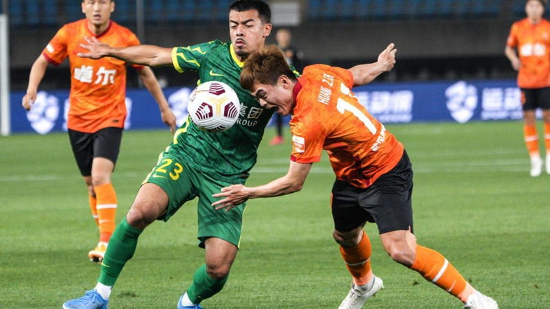 CSL: Shanghai draws with Hebei, Beijing smashes Wuhan