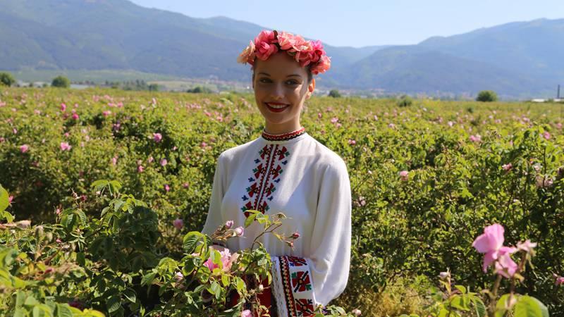 Rose Festival held in Bulgaria