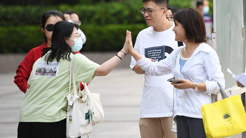 China holds Gaokao with tailored COVID-19 control measures in place
