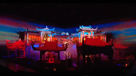 Immersive theater compound opens in central China's Henan