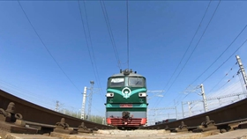 New cross-border freight train service launched between China, central Asia