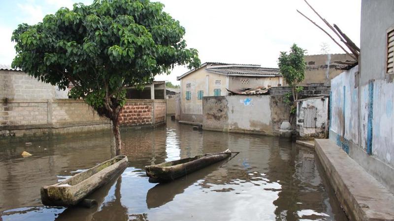 In pics: flooded village of Djegbadji in Benin