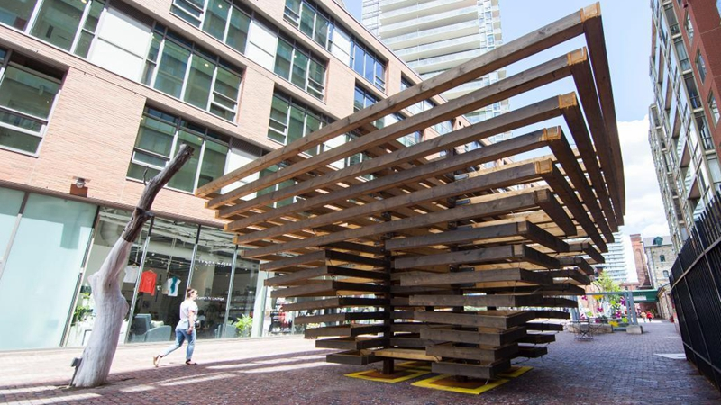 In pics: exhibition of 2021 Winter Stations int'l design competition in Toronto