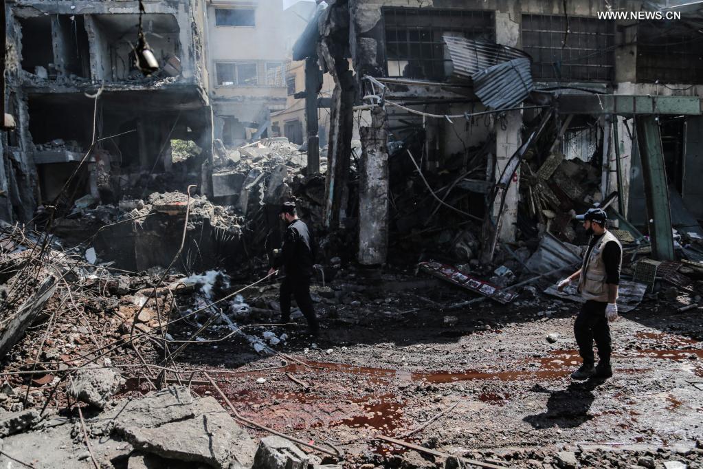 1 killed, 10 injured in explosion in Gaza