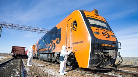 China-Mongolia border port sees robust growth in China-Europe freight trains