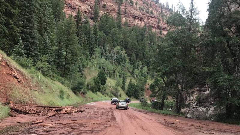 U.S. Colorado hit by record-breaking heat waves, mudslides
