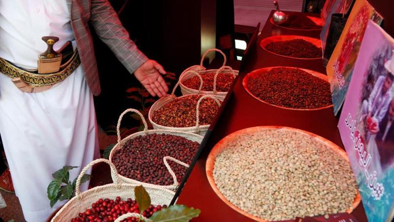 Coffee fair held in Sanaa, Yemen