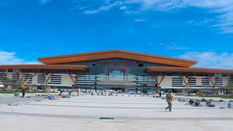 Lao capital station of China-Laos Railway makes debut