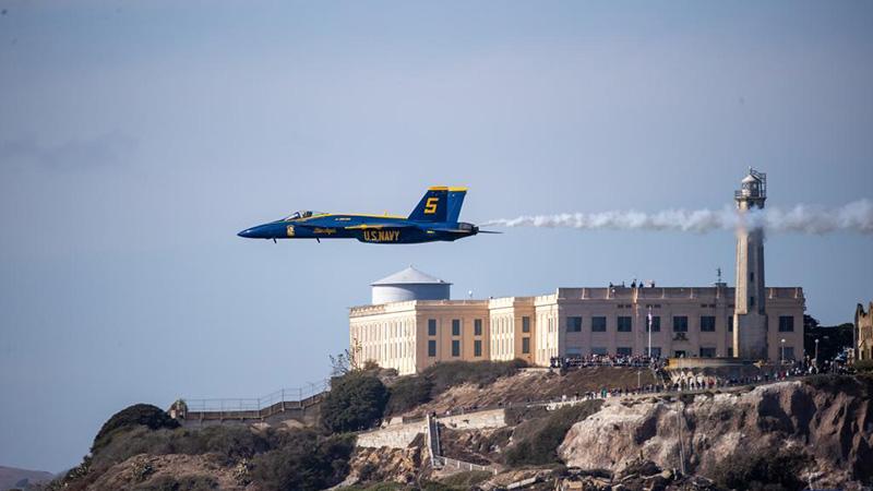 Annual Fleet Week activities held in San Francisco