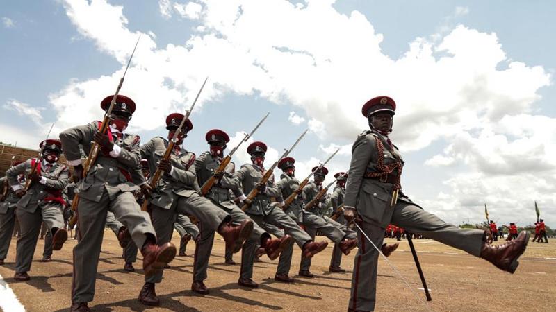 59th Independence Day celebrated in Kampala, Uganda