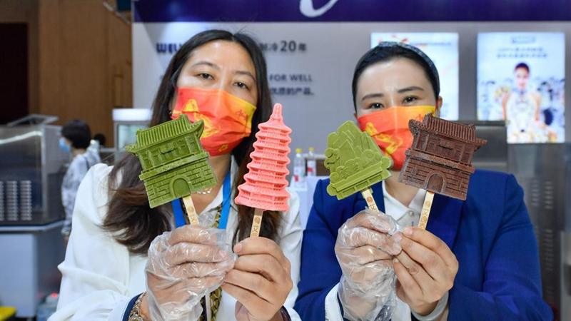 Ice cream exhibition opens in Tianjin