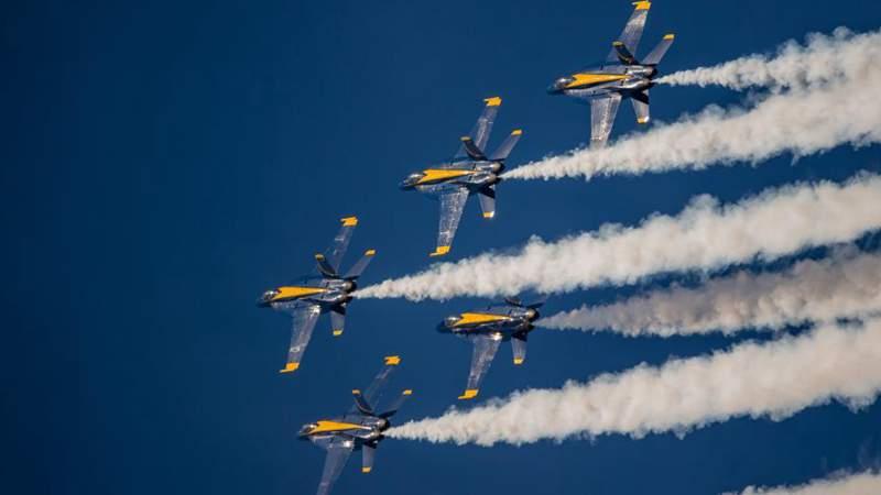 In pics: air show of annual Fleet Week activities in San Francisco