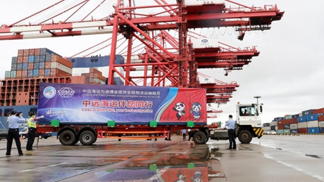 1st batch of exhibits for 4th CIIE arrives at Shanghai