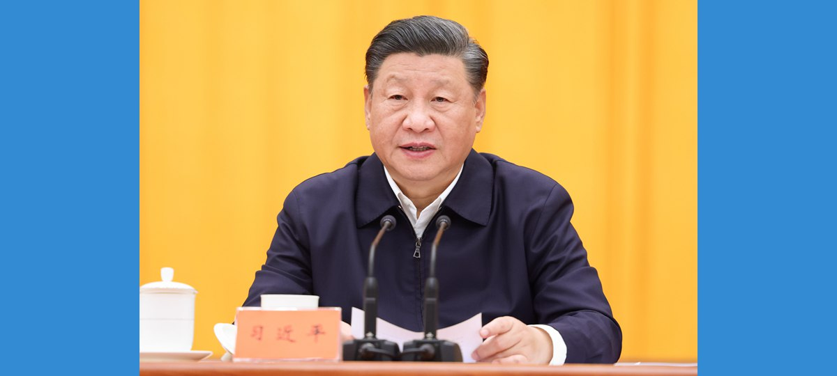 Xi stresses enhancing whole-process people's democracy