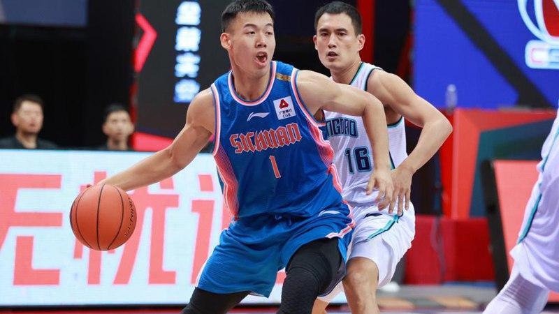 CBA league: Qingdao vs. Sichuan