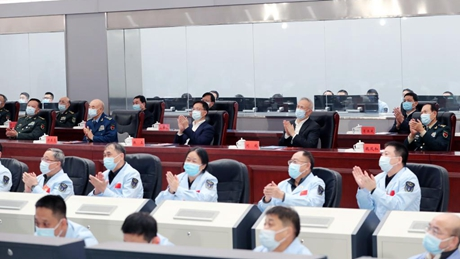 Chinese vice premier congratulates members of Shenzhou-13 mission