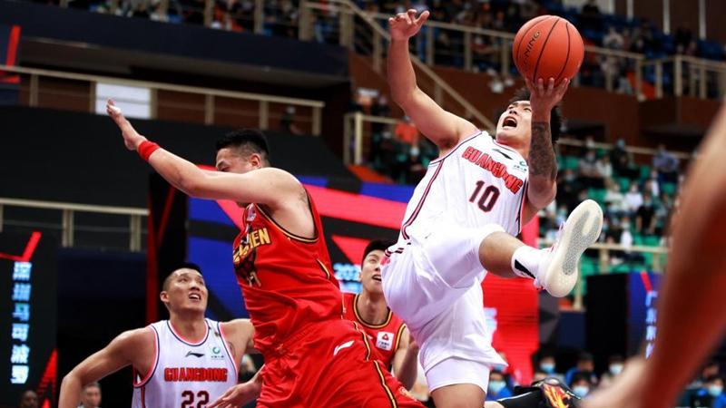 Guangdong, Shandong off to winning start in stars' return