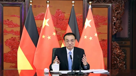 Premier Li encourages Chinese, German entrepreneurs to enhance cooperation, promote peoples' friendship