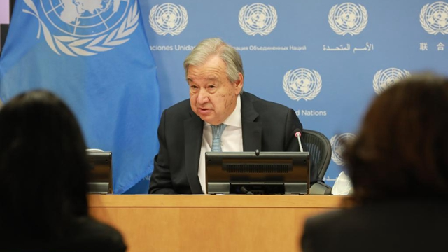UN chief calls for leadership in climate action ahead of Glasgow conference