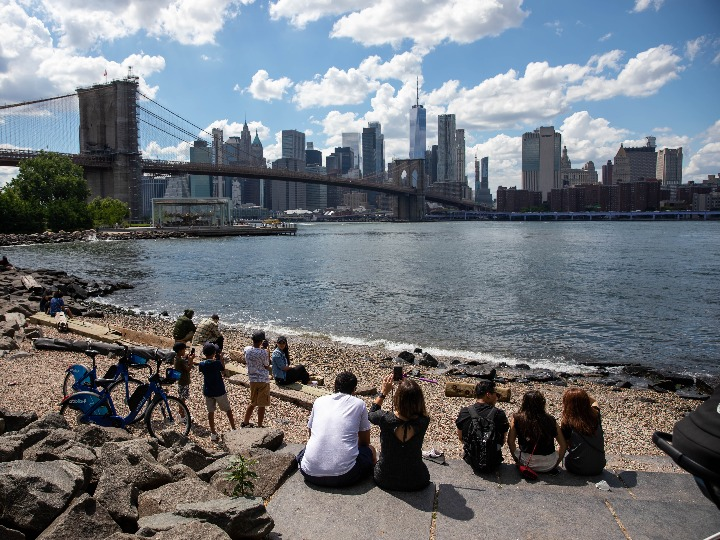 New York lifts COVID-19 restrictions, planning celebrations