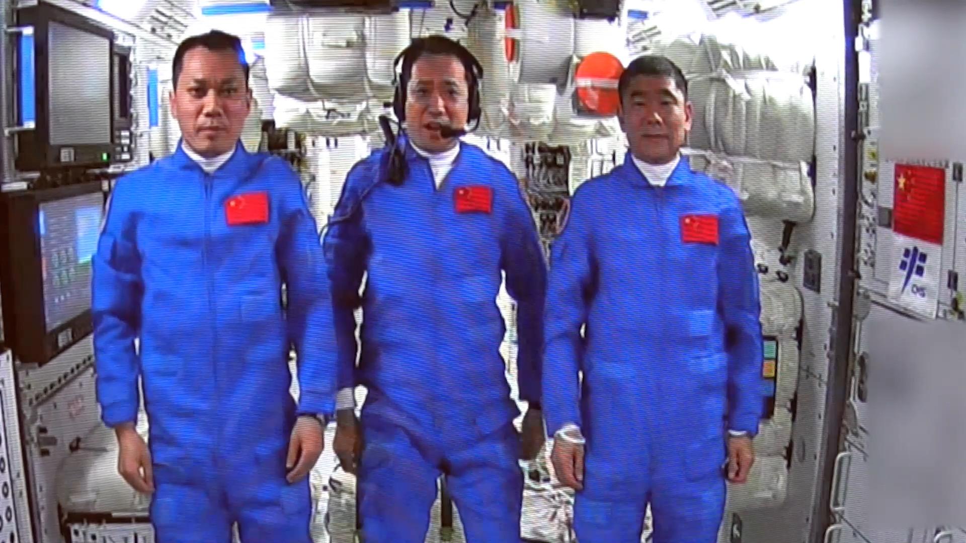 GLOBALink | Shenzhou-12 astronauts enter space station core module
