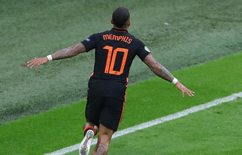 The Netherlands win Group C with 3-0 victory over North Macedonia in Euro 2020