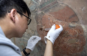 China's largest Taoist temple launches mural restoration