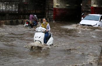 Heavy rainfall hits Bhopal, India
