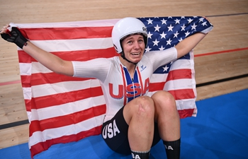 American cyclist Valente wins cycling track women's omnium at Tokyo Olympics