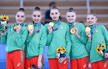 Bulgaria claims rhythmic gymnastics group all-around title at Tokyo 2020
