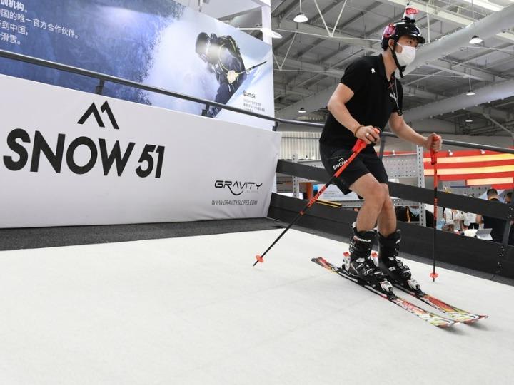 GLOBALink | Vlog on CIFTIS: explore world winter sports expo
