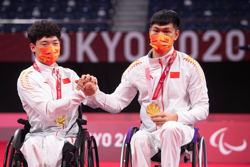 Highlights of Tokyo 2020 Paralympic Games on Sept. 5