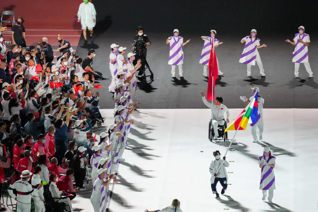 Highlights of closing ceremony of Tokyo 2020 Paralympic Games