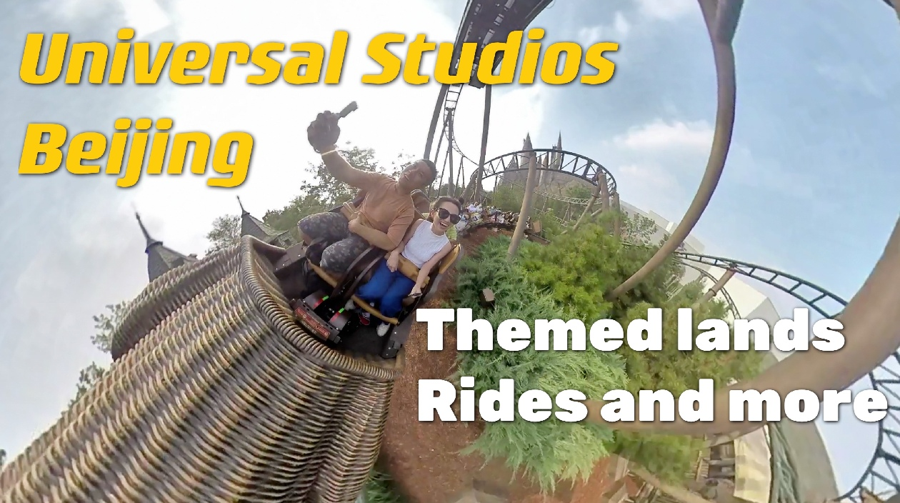 GLOBALink | Universal Studios Beijing -- themed lands, rides and more