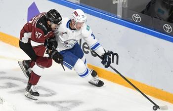 2021-2022 Kontinental Hockey League: Dinamo Riga vs. Barys Nur-Sultan