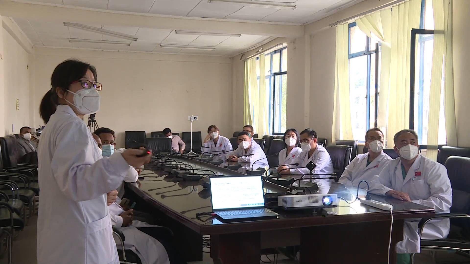 GLOBALink   Chinese medical team provides service to some 20,000 Ethiopian patients in last 9 months