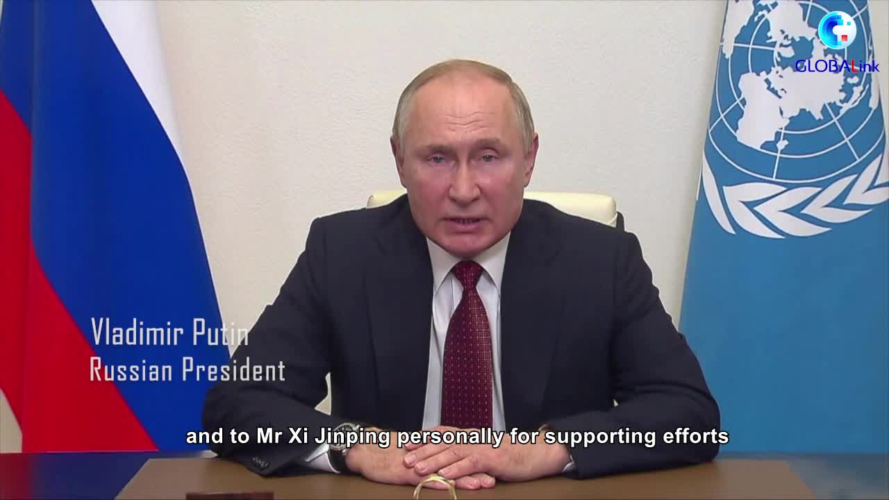 GLOBALink   Putin calls for closer global cooperation on conserving biodiversity