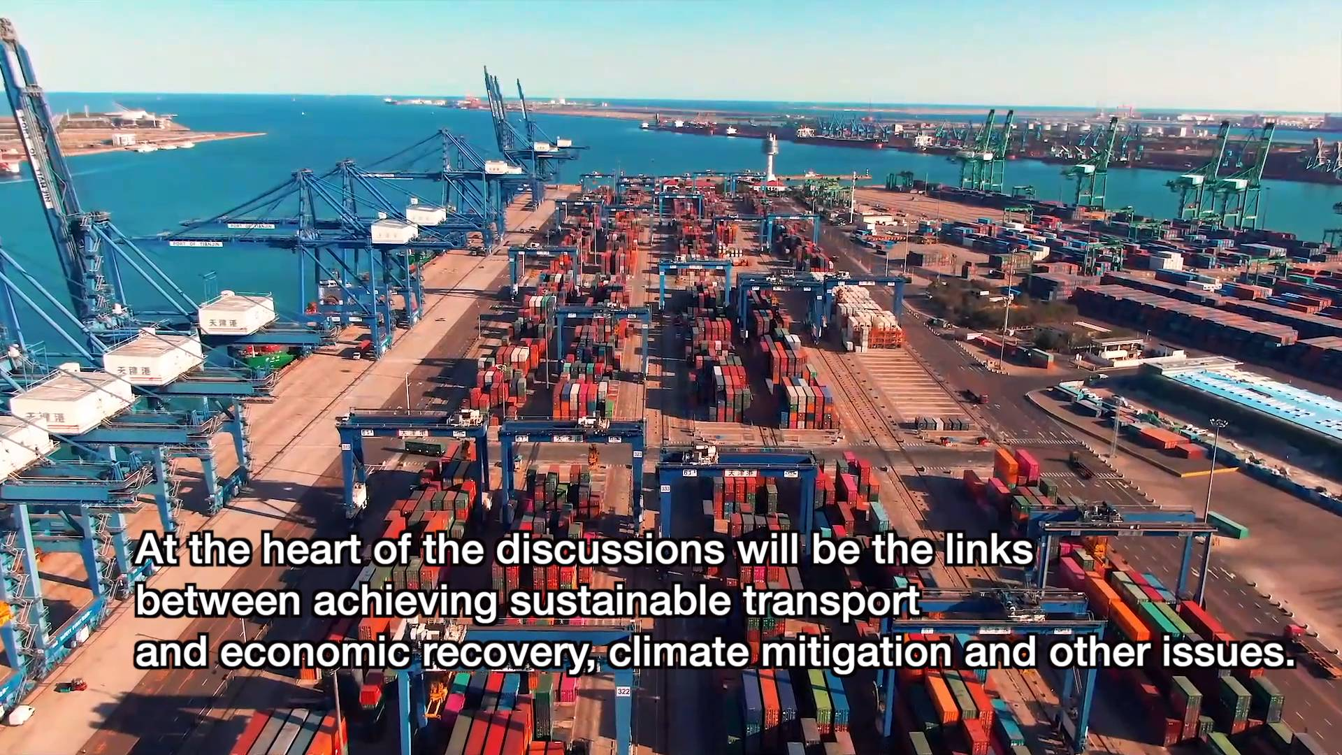 GLOBALink   UN Global Sustainable Transport Conference to open in Beijing