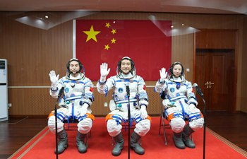 See-off ceremony held for Chinese astronauts of Shenzhou-13 mission