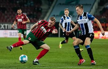 Augsburg share spoils with Bielefeld in Bundesliga's bottom clash