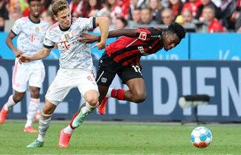 Bayern crush Leverkusen in top clash to defend lead in Bundesliga