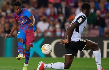 La Liga: Real Sociedad go top as Fati's return helps Barca to vital win