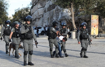 Clashes break out between Israeli police and Palestinians near Jerusalem