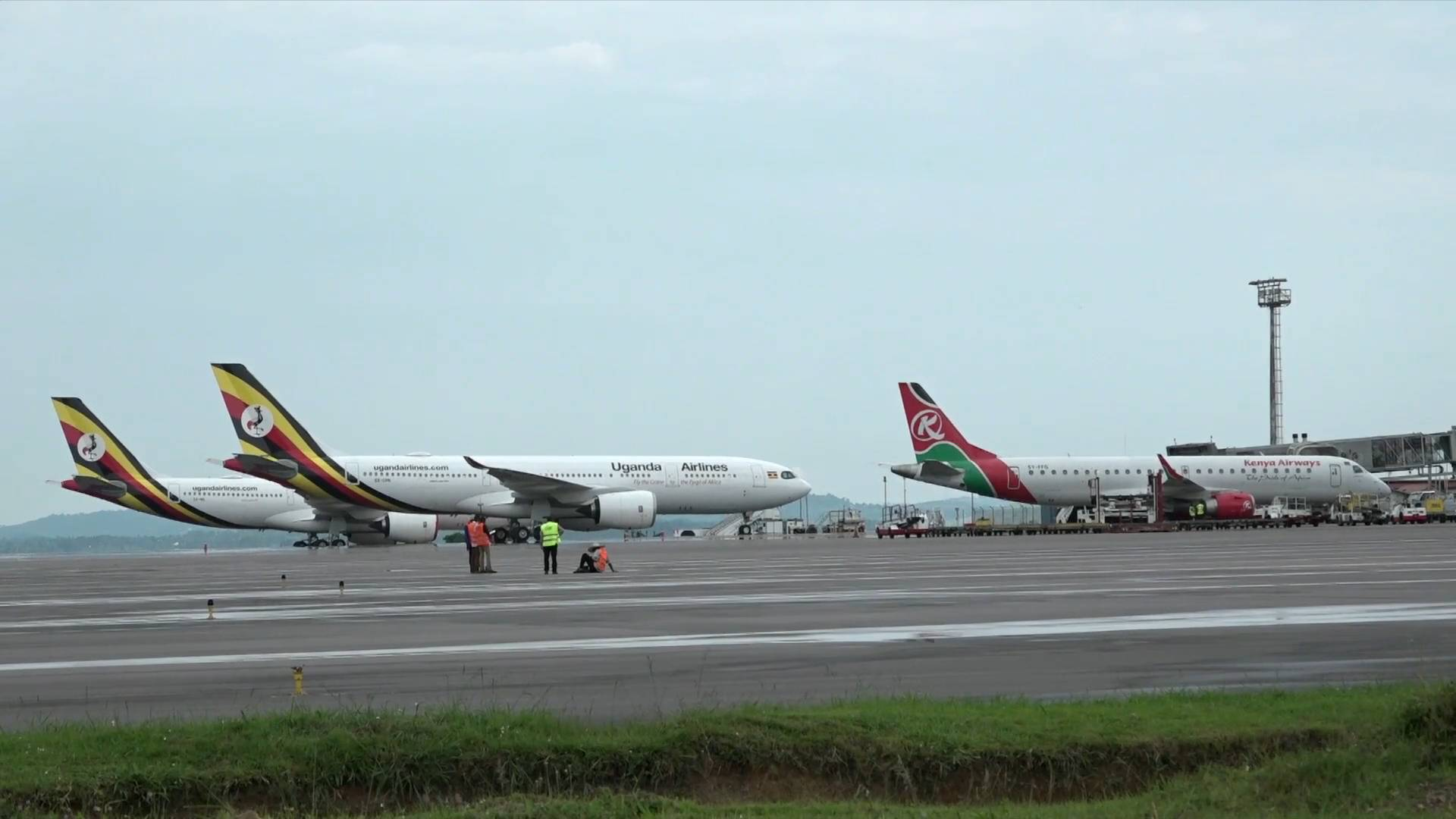 GLOBALink   China revitalizes Uganda's aging airport to carry more int'l traffic