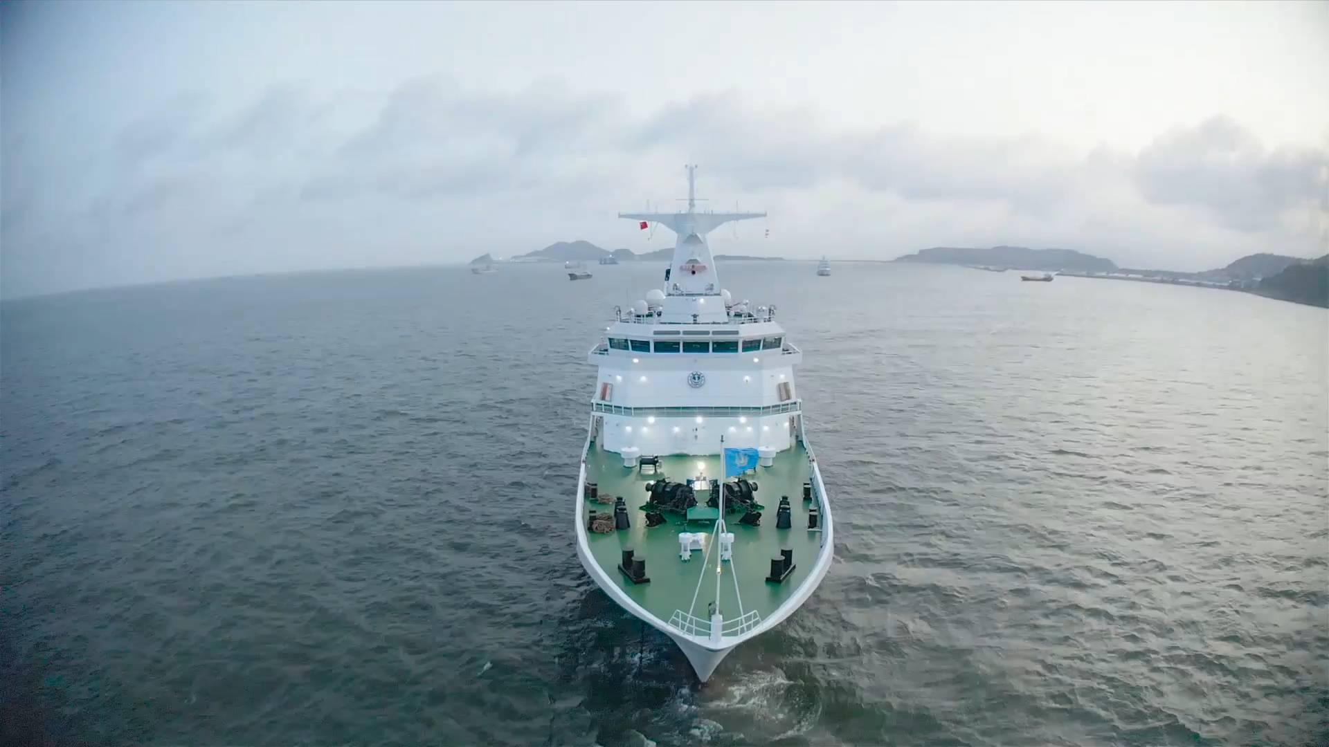 GLOBALink | China's largest patrol vessel put into service